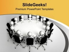 Discuss Business Issues And Resolve It PowerPoint Templates Ppt Backgrounds For Slides 0713