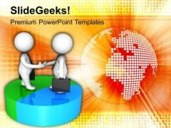Discuss Business Result With Global Client PowerPoint Templates Ppt Backgrounds For Slides 0613