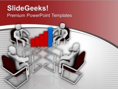 Discuss Business Result With Team Mate PowerPoint Templates Ppt Backgrounds For Slides 0613