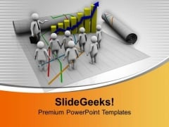 Discuss Business Result With Team PowerPoint Templates Ppt Backgrounds For Slides 0713