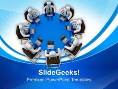 Discuss Problems With Team PowerPoint Templates Ppt Backgrounds For Slides 0513