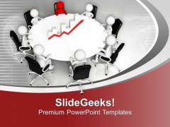 Discuss The Business Result With Team PowerPoint Templates Ppt Backgrounds For Slides 0613