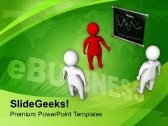 Discuss The Business Target With Team PowerPoint Templates Ppt Backgrounds For Slides 0613