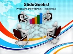 Discuss The Result Analysis With Team PowerPoint Templates Ppt Backgrounds For Slides 0613