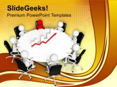 Discuss The Result Of Finance With Team PowerPoint Templates Ppt Backgrounds For Slides 0613