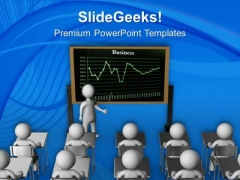 Discuss The Results With Team PowerPoint Templates Ppt Backgrounds For Slides 0613