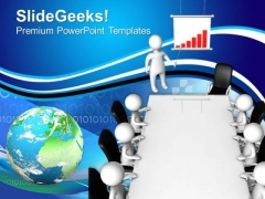 Discussion On Business Development PowerPoint Templates Ppt Backgrounds For Slides 0513