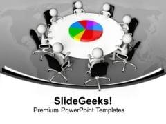 Discussion On Marketing Results PowerPoint Templates Ppt Backgrounds For Slides 0613