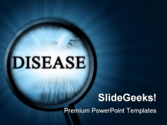 Disease Metaphor PowerPoint Themes And PowerPoint Slides 0711