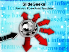 Distribute Work In Between Team PowerPoint Templates Ppt Backgrounds For Slides 0513
