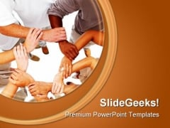 Diversity Global Business PowerPoint Templates And PowerPoint Backgrounds 0811