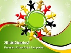 Diversity Global PowerPoint Templates And PowerPoint Backgrounds 0411