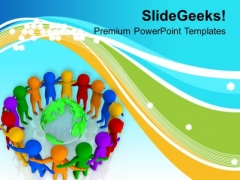Diversity Makes Your Team Strong PowerPoint Templates Ppt Backgrounds For Slides 0613