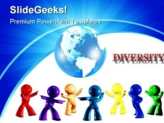Diversity On Earth Global PowerPoint Templates And PowerPoint Backgrounds 0311