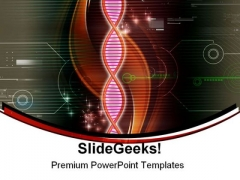 Dna Abstract Medical PowerPoint Themes And PowerPoint Slides 0211