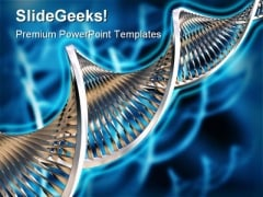 Dna Medical PowerPoint Template 0610