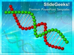 Dna Strands Science PowerPoint Templates And PowerPoint Themes 0512