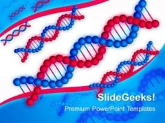 Dna Structure Science PowerPoint Templates And PowerPoint Themes 0412