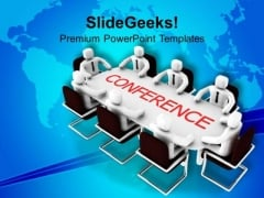 Do Conference To Solve Issues PowerPoint Templates Ppt Backgrounds For Slides 0413