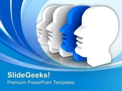 Do Not Create Double Personality PowerPoint Templates Ppt Backgrounds For Slides 0613