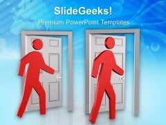 Do Not Escape From Situation Of Trouble PowerPoint Templates Ppt Backgrounds For Slides 0613