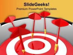 Do Not Miss The Target In Marketing PowerPoint Templates Ppt Backgrounds For Slides 0513