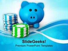 Do Not Waste Saving On Poker PowerPoint Templates Ppt Backgrounds For Slides 0713
