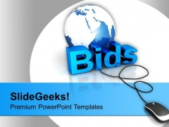 Do Online Bidding For Business PowerPoint Templates Ppt Backgrounds For Slides 0513