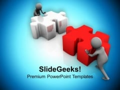 Do Strong Efforts To Complete Task PowerPoint Templates Ppt Backgrounds For Slides 0713