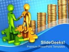 Do The Business Partnership PowerPoint Templates Ppt Backgrounds For Slides 0613