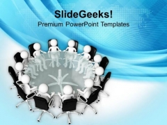 Do The Result Review Meetings PowerPoint Templates Ppt Backgrounds For Slides 0613