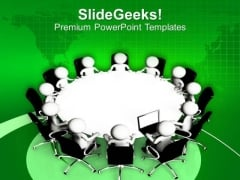 Do The Review Meetings In Business PowerPoint Templates Ppt Backgrounds For Slides 0513