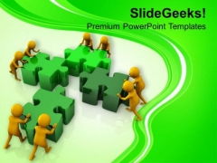 Do The Team Effort For Fixing Problems PowerPoint Templates Ppt Backgrounds For Slides 0613