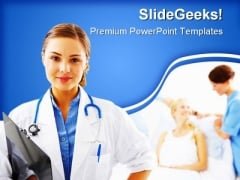 Doctor Medical PowerPoint Themes And PowerPoint Slides 0511