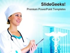 Doctor Medical PowerPoint Themes And PowerPoint Slides 0611