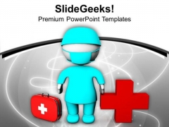 Doctors Are The Saviour Of Society PowerPoint Templates Ppt Backgrounds For Slides 0713