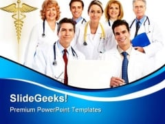Doctors Team Medical PowerPoint Themes And PowerPoint Slides 0411