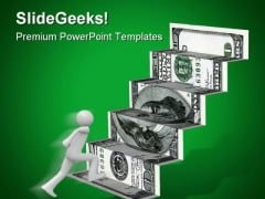 Dollar And People Money PowerPoint Backgrounds And Templates 1210