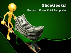 Dollar Business PowerPoint Template 0610