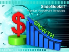 Dollar Growth Finance Success PowerPoint Templates And PowerPoint Themes 0812