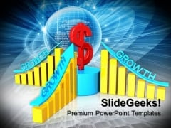 Dollar Growth Global Money PowerPoint Templates And PowerPoint Themes 0712