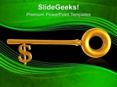 Dollar Key Real Estate PowerPoint Templates And PowerPoint Themes 1012