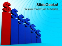 Dollar Statistic Money PowerPoint Themes And PowerPoint Slides 0611