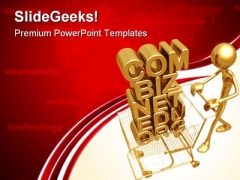 Domain Shopping E Commerce Technology PowerPoint Themes And PowerPoint Slides 0611