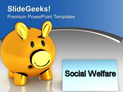 Donation To Homeless Social Welfare Concept PowerPoint Templates Ppt Backgrounds For Slides 0413