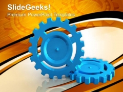 Download Gears Business PowerPoint Templates And PowerPoint Themes 0612