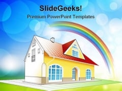 Dream Home Real Estate PowerPoint Templates And PowerPoint Backgrounds 0311