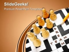 Dream Team Game PowerPoint Themes And PowerPoint Slides 0511
