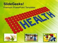 Drugs And Pills Forming Health Medicine PowerPoint Templates Ppt Backgrounds For Slides 0313