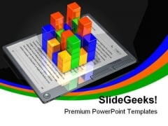 E Book Data Business PowerPoint Templates And PowerPoint Backgrounds 0311